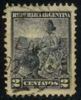 Argentina #124 Liberty, used (0.30)