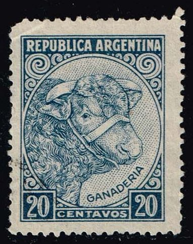 Argentina #440 Cattle; Used (0.25)