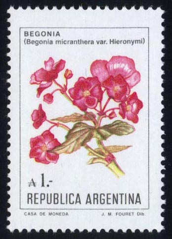 Argentina #1524 Flowers, MNH (1.00)
