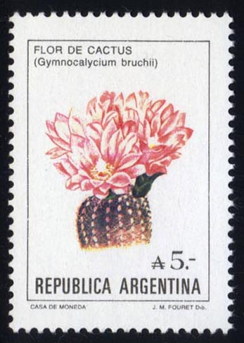 Argentina #1526 Flowers, MNH (6.75)
