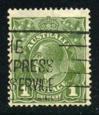Australia #114 King George V, used (0.40)