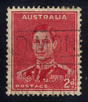 Australia #182 King George VI, used (0.30)