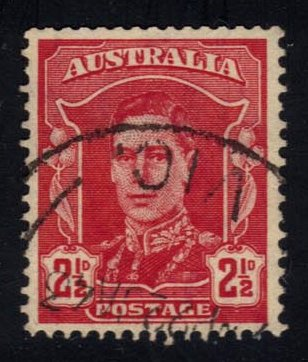 Australia #194 King George VI, used (0.30)