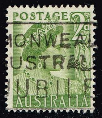 Australia #231 Queen Elizabeth; Used (0.25)