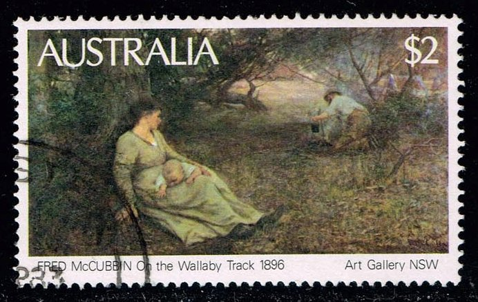 Australia #575 On the Wallaby Track; used (0.50)