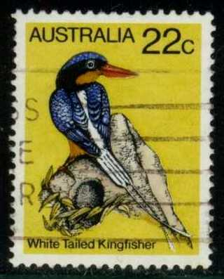 Australia #733 White-tailed Kingfisher, used (0.30)