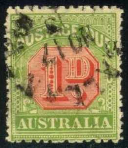 Australia #J40 Postage Due, used (9.75)