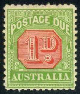 Australia #J51 Postage Due, Unused (7.50)