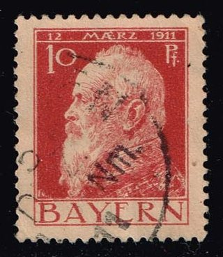 Germany-Bavaria #79 Prince Regent Luitpold; used (0.40)