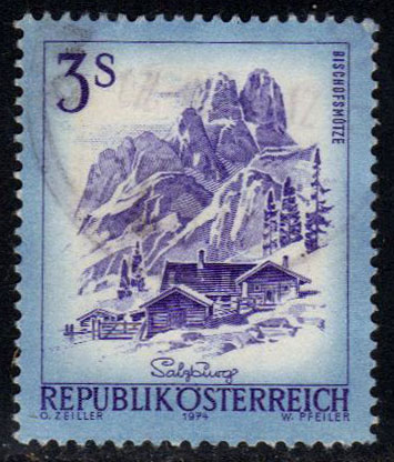 Austria **U-Pick** Stamp Stop - Box 35 Item 8