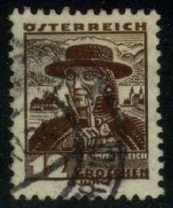 Austria **U-Pick** Stamp Stop - Box 37 Item T