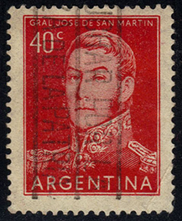 Argentina **U-Pick** Stamp Stop - Box 43 Item K