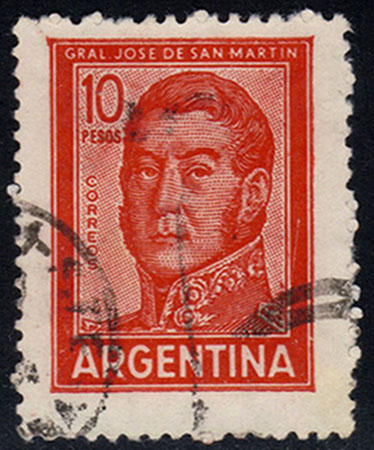 Argentina **U-Pick** Stamp Stop - Box 43 Item Q
