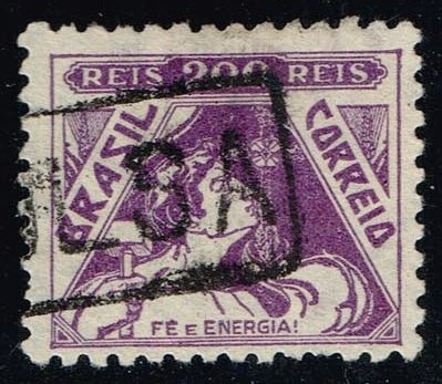 Brazil #385 Allegory of Faith and Energy; Used (0.25)