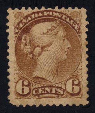 Canada #43 Queen Victoria; Unused (240.00)