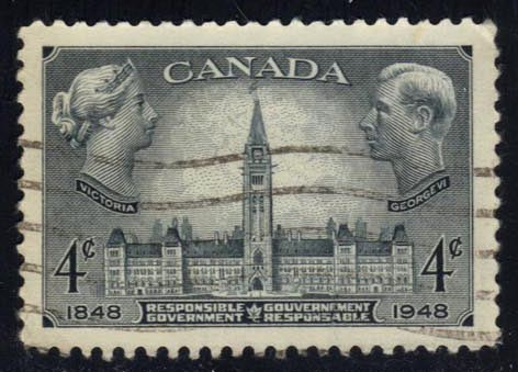 Canada #277 Parliament Buildings; used (0.25)