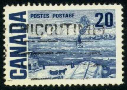 Canada #464 The Ferry, Quebec, used (0.25)
