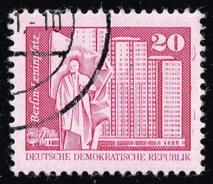 Germany DDR #2074 Lenin Square - Berlin; CTO (0.25)