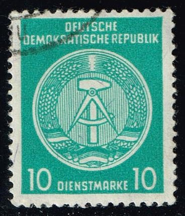 Germany DDR #O38 Arms of the Republic; CTO (0.25)