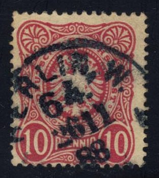 Germany #39 Imperial Eagle, used (1.25)