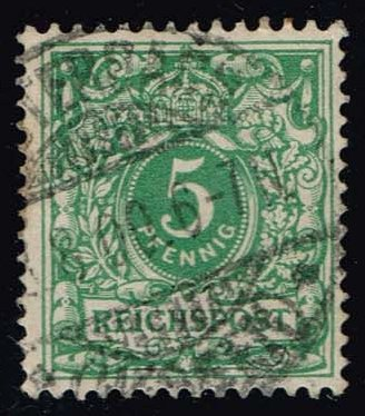 Germany #47 Numeral; used (1.40)