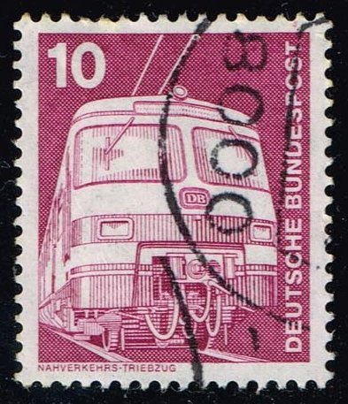 Germany #1171 Electric Train; used (0.25)
