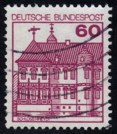 Germany #1311 Rheydt Castle, used (0.30)