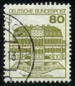 Germany #1312 Willhelmsthal Castle, used (0.25)