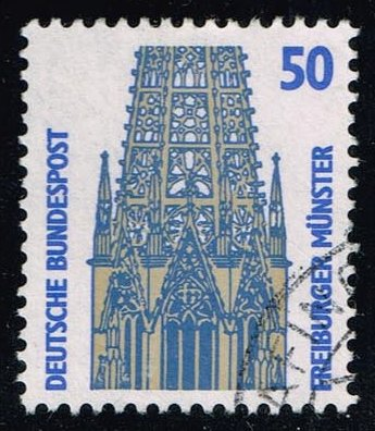 Germany #1524 Freiburg Cathedral; used (0.25)