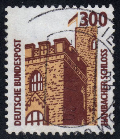 Germany #1536 Hambach Castle, used (0.45)