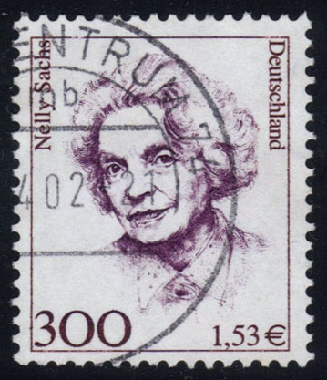 Germany #1732 Nelly Sachs, used (2.10)