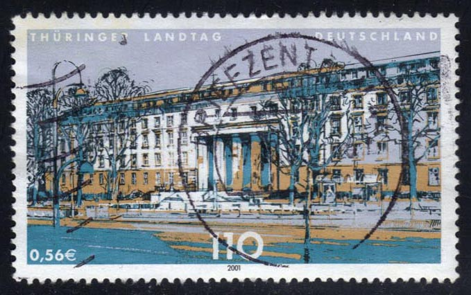 Germany #2116 Thuringia State Parliament, used (1.00)