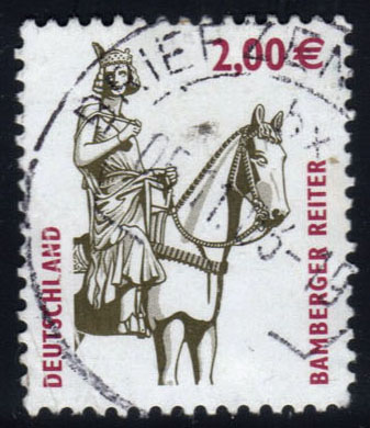 Germany #2209 Equestrian Statue, Bamberg, used (2.75)