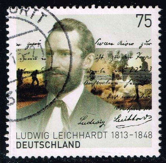 Germany #2752 Ludwig Leichhardt; used (1.10)