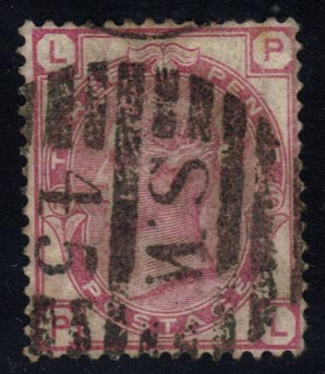 Great Britain #61 Queen Victoria, used (45.00)