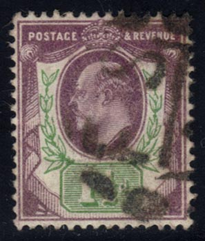 Great Britain #129 King Edward VII, used (10.00)