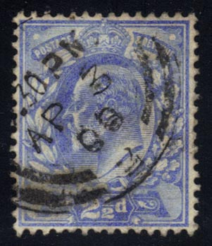 Great Britain #131 King Edward VII, used (3.00)