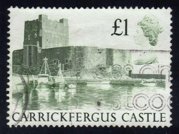 Great Britain #1230 Carrickfergus Castle, used (1.00)