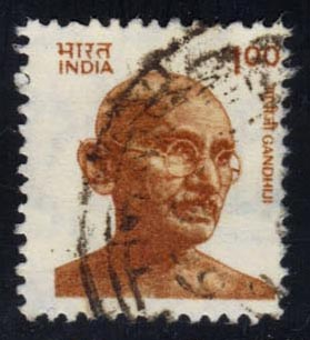 India #916 Mahatma Ghand; used (0.25)