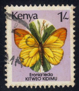 Kenya #430 Butterfly; used (0.30)