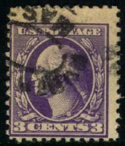 US #530 George Washington; used (0.30)