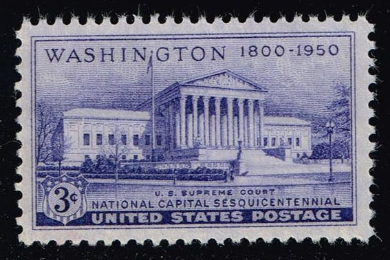 US #991 Supreme Court Building; used (0.25)