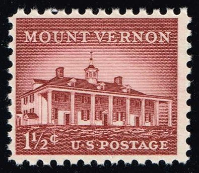 US #1032 Mount Vernon; MNH (0.25)
