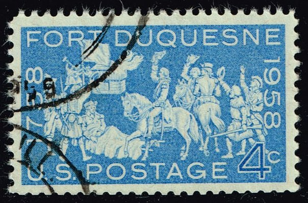 US #1123 Fort Duquesne; used (0.25)