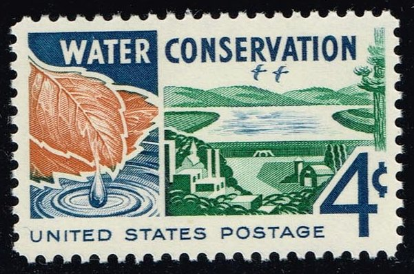 US #1150 Water Conservation; MNH (0.25)