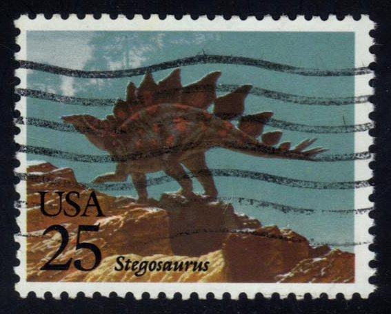 US #2424 Stegosaurus, used (0.25)