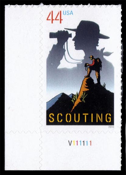 US #4472 Boy Scouts of America P# Single; MNH (0.90)
