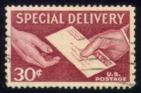 US #E21 Hand Delivery, used (0.25)