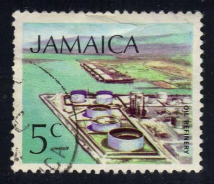 Jamaica **U-Pick** Stamp Stop Box #122 Item 21
