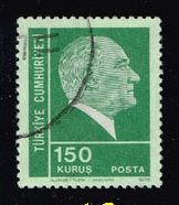 Turkey **U-Pick** Stamp Stop Box #129 Item 12
